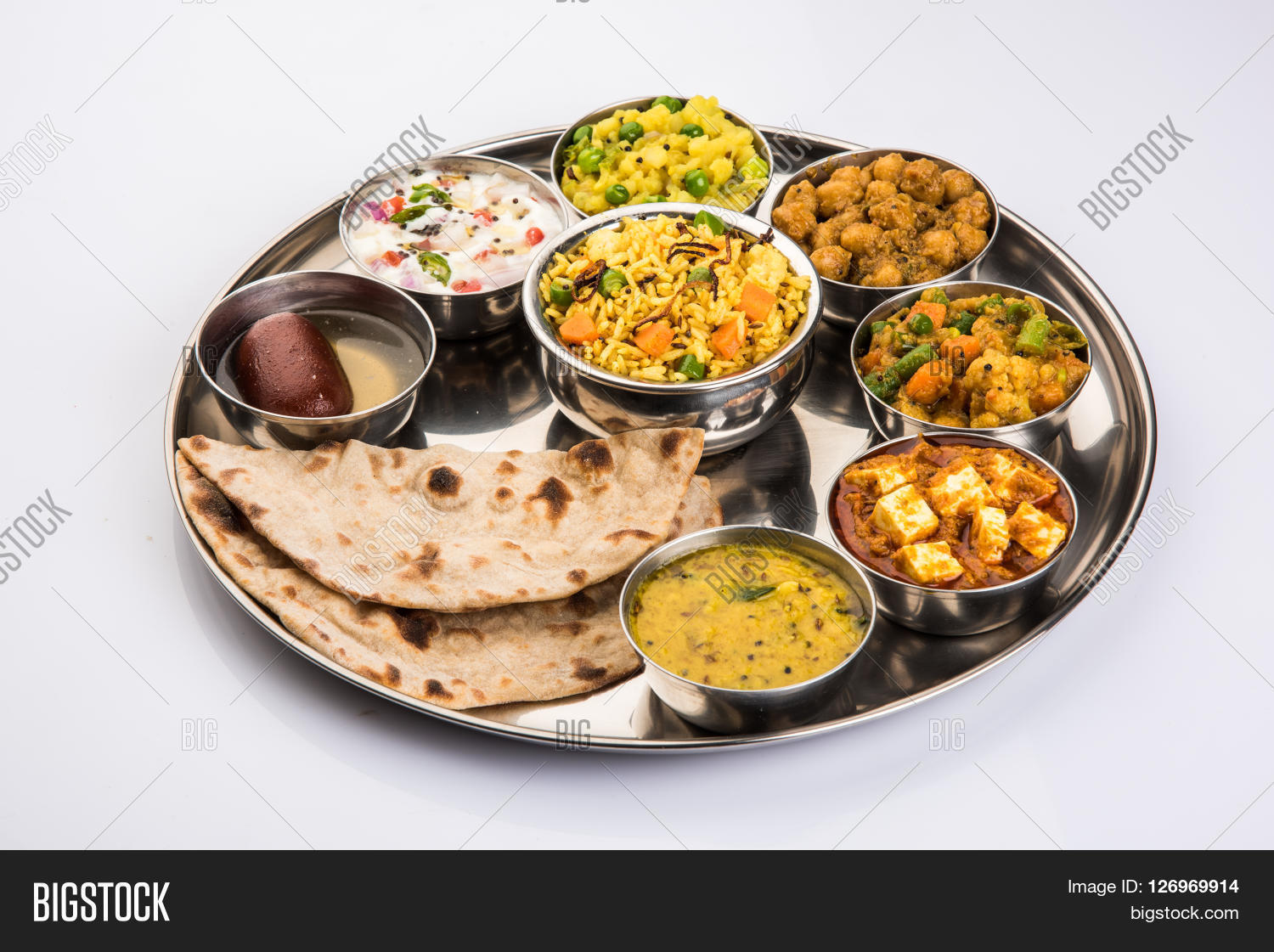 how to make south indian thali