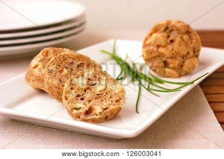 Dumpling On The Plate