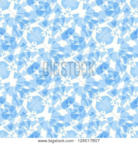 Light blue geometric rectangle seamless pattern in soft colors