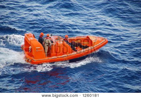 Passenger And Crew Rescue Operation