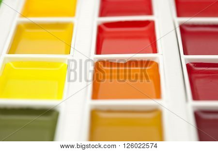 Watercolor Paints Set