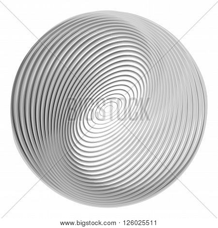 Design Monochrome Ellipse Background