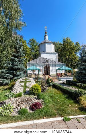The ancient Church of the Assumption. Holy Dormition Monastery diocesan. Lipetsk. Russia