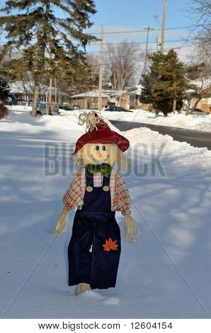 Winter Scarecrow