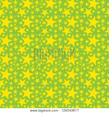 Vector seamless napkin background with stars