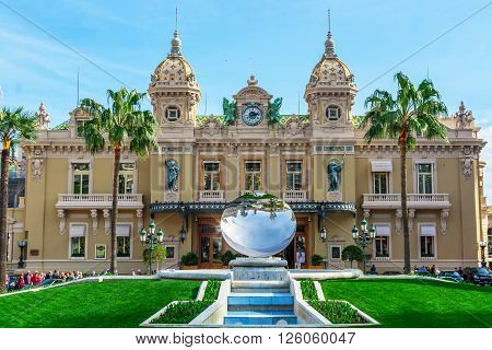 The Famous Casino Of Monte Carlo. Monte Carlo