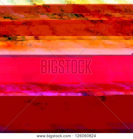 Background with light effects in style glitch-art. Vector illustration