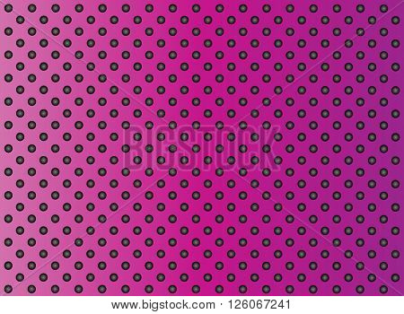 High resolution concept conceptual pink metal stainless steel aluminum perforated pattern texture mesh background