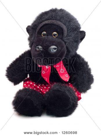 Mono en boxeadores