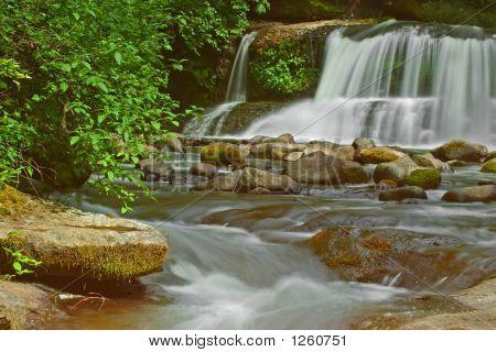 Photograph Of Mcdowell Creek Falls