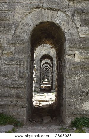 made during the Ottoman period Istanbul's Byzantine aqueducts repaired detail