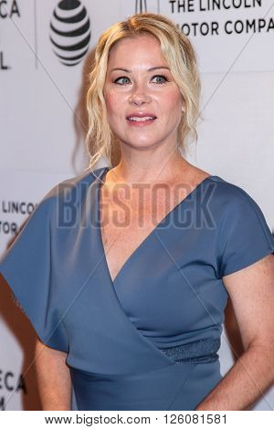 NEW YORK, NY - APRIL 16: Christina Applegate  at 'Youth In Oregon' Premiere - 2016 Tribeca Film Festival at t BMCC Tribeca Performing Arts Center on April 16, 2016 in New York City