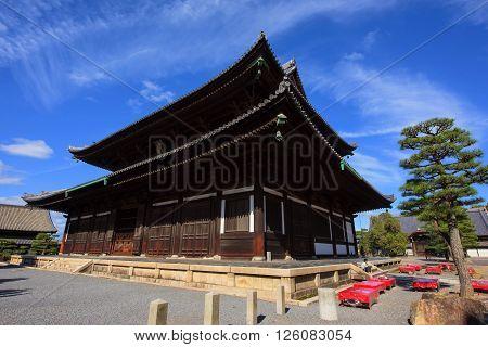 Kondo Hall, Buddhist Temple Near Tofukuji, Kyoto