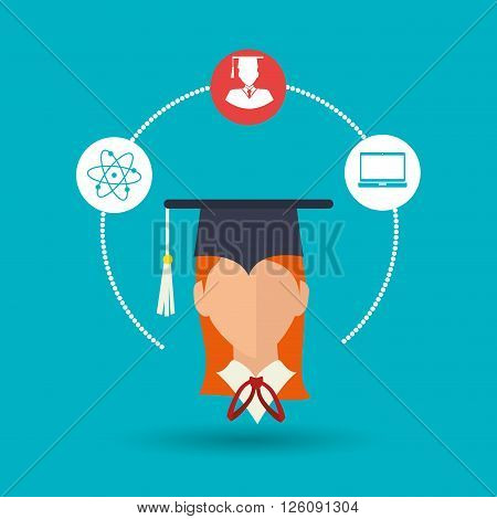 academic student design, vector illustration eps10 graphic