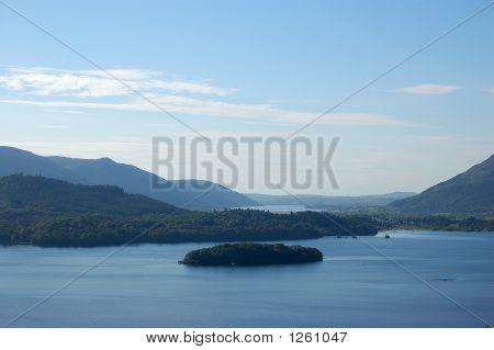 View Down Derwent Water