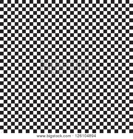 Checker chess. Square abstract background vector. Finish checker seamless pattern