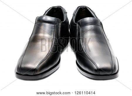 Black Men's Leather Shoe