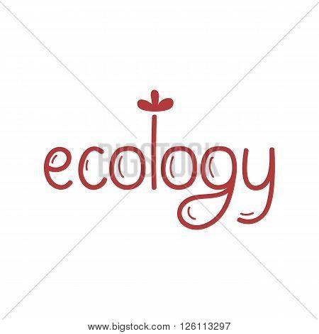Ecology icon. Cartoon organic icon. Eco food label. Natural product icon. Food icon. Bio icon. Organic tag. Eco label. Vegetarian restaurant menu logo. Organic icon. Cartoon eco sign. Funny eco icon. Eco icon.