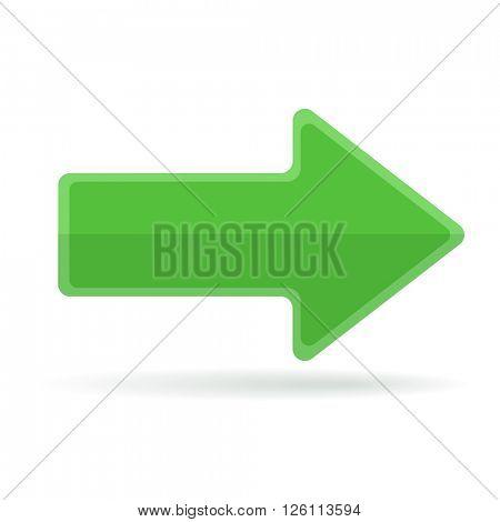 Right green arrow