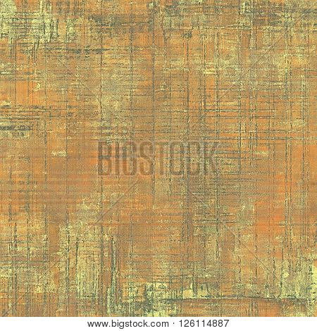 Veined grunge background or scratched texture with vintage feeling and different color patterns: yellow (beige); brown; gray; red (orange)