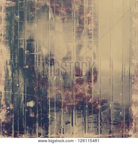 Retro texture, shabby and ragged background in grunge style. With different color patterns: yellow (beige); brown; gray; purple (violet); black