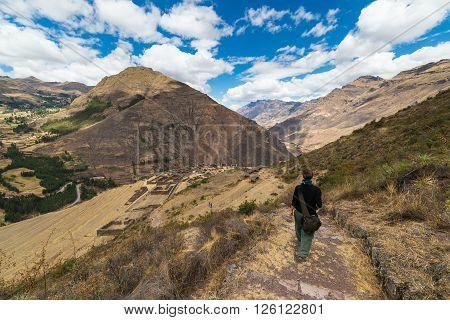 Exploring Inca Trails And Terraces Of Pisac, Peru