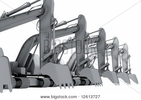 White Models Of The Diggers