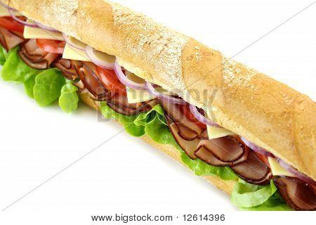 Giant Salad Sub