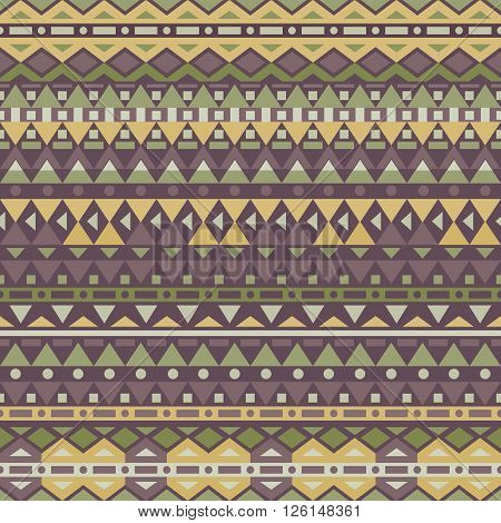 Tribal vector seamless pattern. Can be used for wallpaper pattern fills web page backgroundsurface textures.