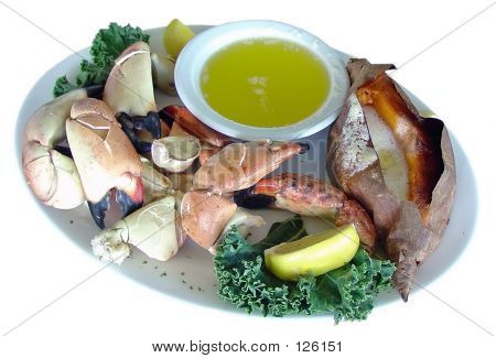 Stone Crab Plate
