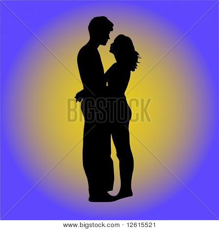 Couple - vector
