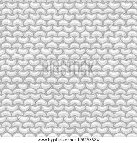 Garter Stitch. Seamless Pattern.