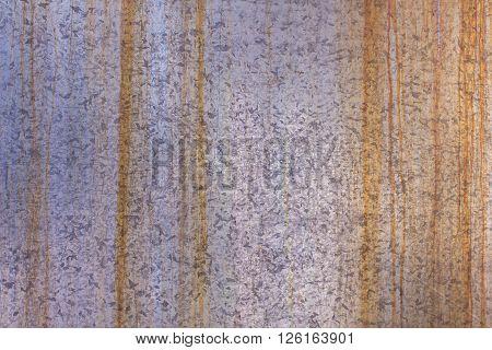 Old Zinc galvanized grunge metal texture , background