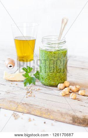 Ingredients Parsley Pesto