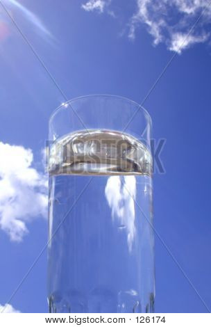 Water Glass Sky