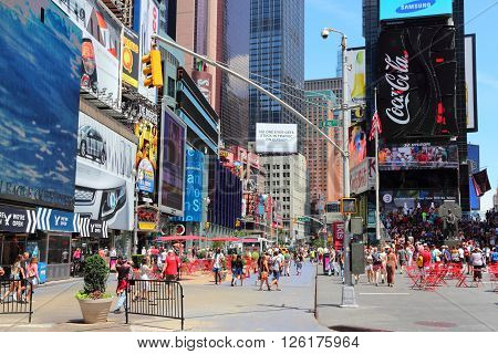 Times Square Day