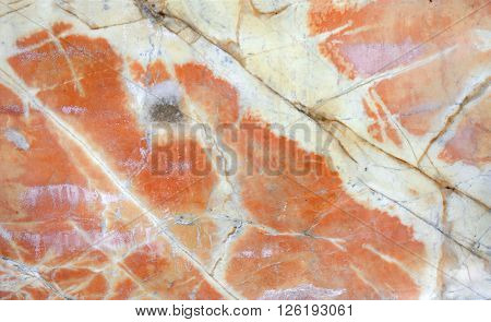 Texture of marble of red color