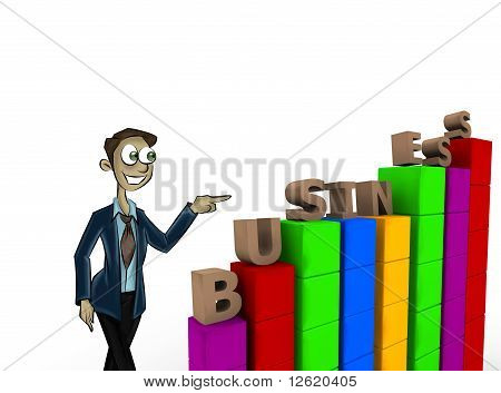 Character Pointing Business