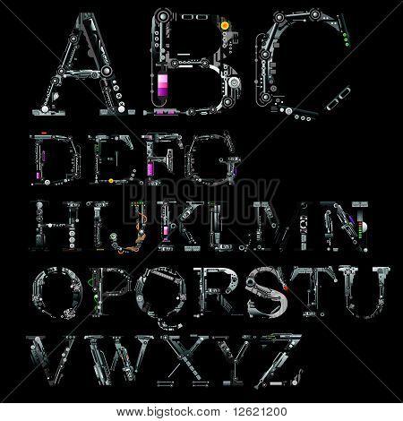 Font Cyber