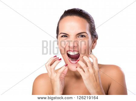 Face Frustrated Woman