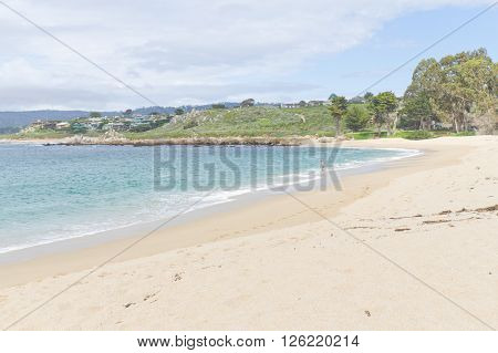 Beach At Garrapata State Park, California
