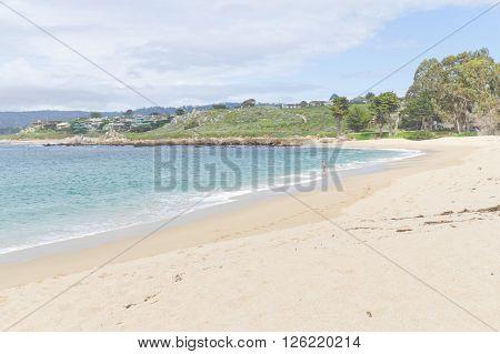 Beach At Garrapata State Park, California