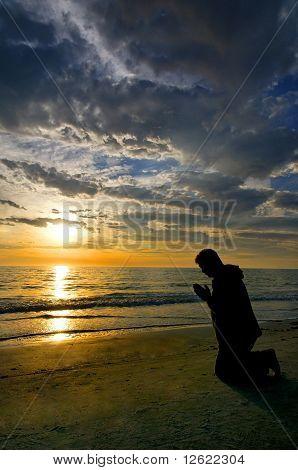 Prayers At The Ocean