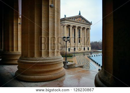 Philadelphia Art Museum as the famous city attractions.
