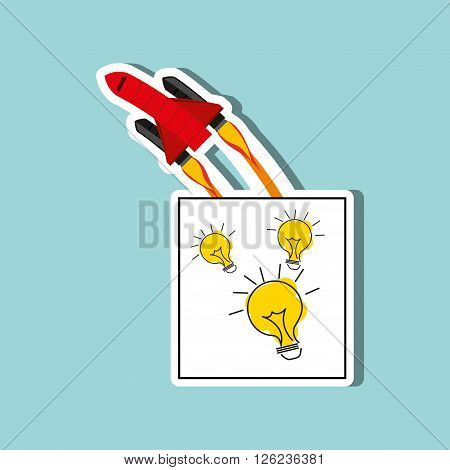 start-up  concept design, vector illustration eps10 graphic