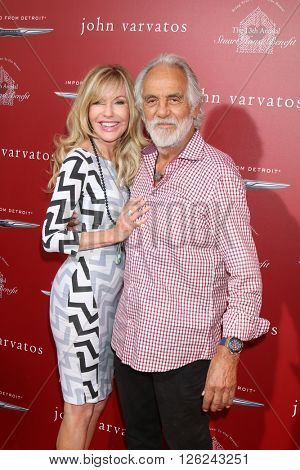 LAS VEGAS - APR 17:  Shelby Chong, Tommy Chung at the John Varvatos 13th Annual Stuart House Benefit at the John Varvatos Store on April 17, 2016 in West Hollywood, CA