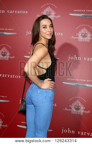 LAS VEGAS - APR 17:  Stella Maeve at the John Varvatos 13th Annual Stuart House Benefit at the John Varvatos Store on April 17, 2016 in West Hollywood, CA