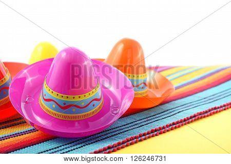 Cinco De Mayo Festive Sombrero Hats