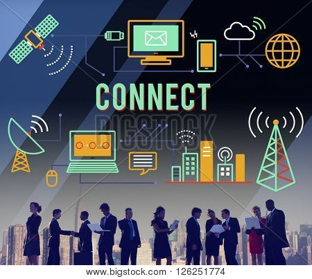 Connect Connection Connecting Connected Join Concept