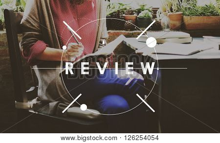 Review Assessment Auditing Evaluate Concept